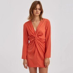The Fifth Label Valley Dress - Orange